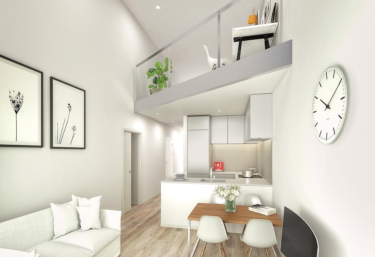 Bajo Dúplezx - Promoción Coll i Pujol 105, Badalona Centre - Household Makers 4.0